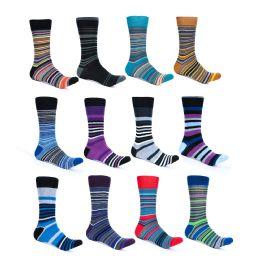 Alberto Cardinali Mens Pattern Dress Socks 240 pack