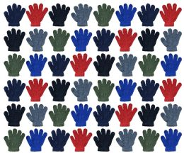 Yacht & Smith Kids Warm Winter Colorful Magic Stretch Gloves Ages 2-5 48 pack