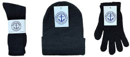 Yacht & Smith Bundle Care Combo Pack, Wholesale Hats Glove, Socks (180, Mens) 180 pack