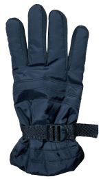 Yacht & Smith Men's Winter Warm Gloves, Fleece Lined With Black Gripper 72 pack