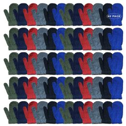 Yacht & Smith Kids Warm Winter Colorful Magic Stretch Mittens Age 2-8