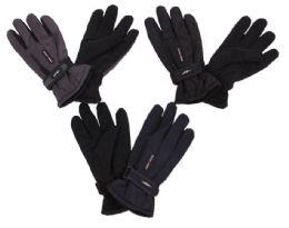 Men's Ski Gloves With Velcro Straps 60 pack
