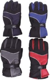 Men's Winter Waterproof Ski Glove 48 pack