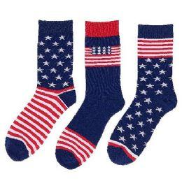 American Styles Crew Socks 24 pack