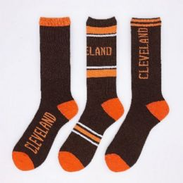 Cleveland Assorted Crew Socks 24 pack