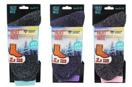 Ladies Thermal Book Sock 48 pack