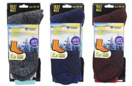 Men's Thermal Boot Socks 10-13 48 pack
