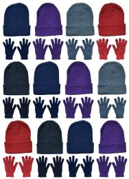 Yacht & Smith Womens Warm Winter Hats And Glove Set 24 Pieces