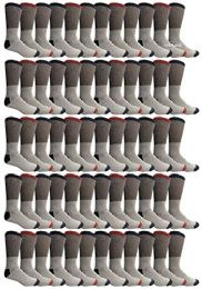 Yacht & Smith Womens Cotton Thermal Crew Socks , Warm Winter Boot Socks 10-13 120 pack
