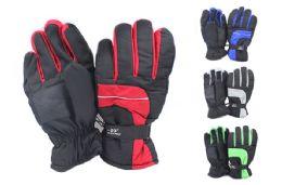 Mens Nylon Ski Gloves 24 pack