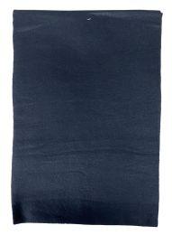 Yacht & Smith Solid Black Color Warm Winter Fleece Scarves Bulk Buy