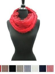 Women's Winter Tube Scarf In Assorted Color 48 pack