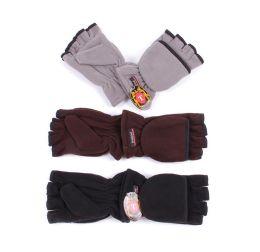 Men's Finger less Gloves 72 pack