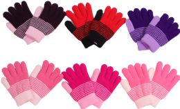 Girl's Magic Glove Assorted Colors 120 pack