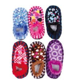 Women's Fuzzy Sock Slipper 180 pack