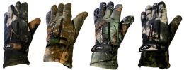 Man size Heavy and Thermal -30 Camo Glove 24 pack