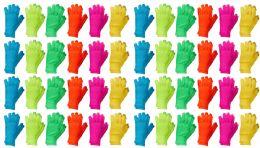 Yacht & Smith Unisex Neon Winter Texting Gloves, Warm Thermal Winter Gloves