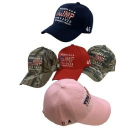 Re-Elect Trump 2020 Hat Keep America Great 24 pack