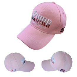 Trump 2020 Hat Keep America Great [Pink Only] 24 pack