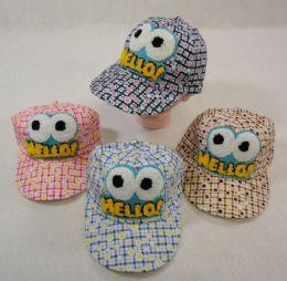 Toddler Ball Cap [HELLO] 36 pack