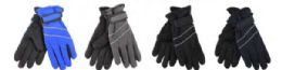 Boys Water Resistant Fleece Lined Ski Glove 72 pack