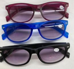 Unisex Assorted Colors and Power Lens Reading Glasses Bulk Buy 120 pack