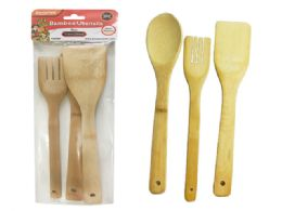Utensils Bamboo 96 pack