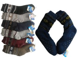 Socks Mens Fuzzy 24 pack