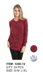 Long Sleeve Sweater Tunic 24 pack