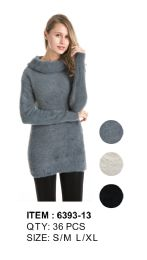 Long Sleeve Sweater Tunic 36 pack