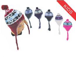 Kid's Snowflake Helmet Hat 72 pack