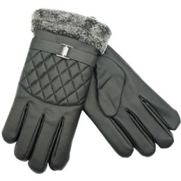 Mens Lined Touch Gloves 24 pack