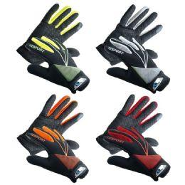 Men's sports gloves 36 pack