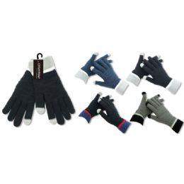Men's pashmina glove 36 pack