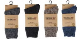 Men's Wool Winter Crew Sock Size 10-13 36 pack