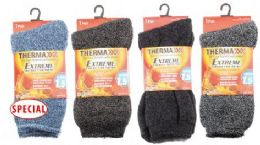 Men's Extra Thick Thermal Winter Crew Sock Size 10-13 36 pack