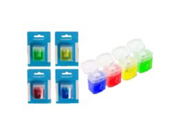 1-Hole Manual Pencil Sharpener (Assorted) 144 pack