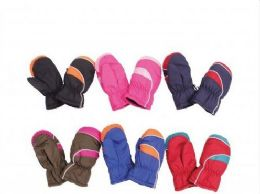 Childrens Snow And Ski Mittens 36 pack