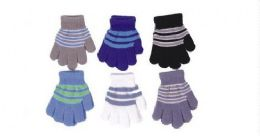Toddlers Boys Winter Magic Glove Stretchy Warm 60 pack