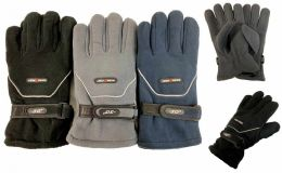 Solid Color Fleece Gloves -30 Degrees Very Warm Sports Glove 36 pack