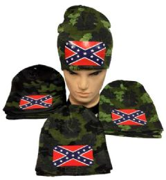 Camo Rebel Hat winter Beanie 24 pack