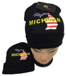 Michigan Winter Beanie Hat 36 pack