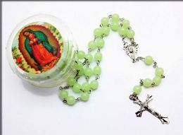 Glow In the Dark Rosary/ Necklace 60 pack