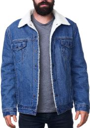 Mens Denim Sherpa Jacket 12 pack
