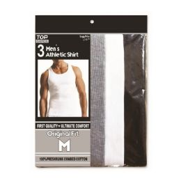 Men's Athletic A-shirts Assorted Colors 48 pack