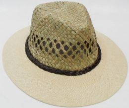 Unisex Straw Top Sun Hat 72 pack