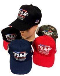 TRUMP Hat Make America Great Again 24 pack