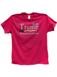 Pink Color Trump 2020 Keep America Great Again 24 pack