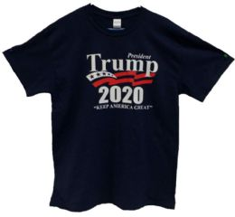 Navy Color T-Shirt Trump 2020 24 pack