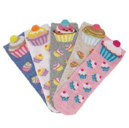 Women's Cupcake Thin Casual No Show Socks 36 pack